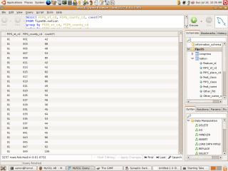 MySQL Screenshot