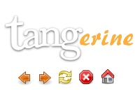 Tangerine Firefox Icon Set