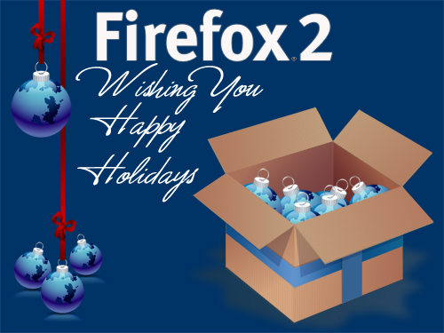 Firefox 2 Happy Holidays Image